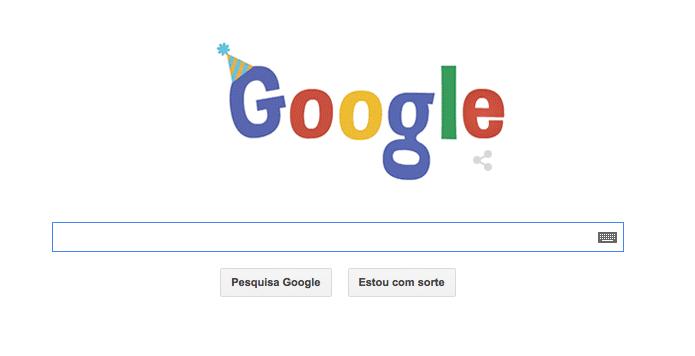 Google comemora seu 16º aniversário com Doodle animado (Foto: Reprodução/Google)