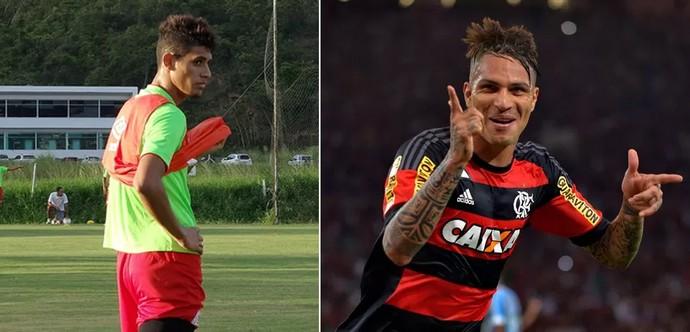 Crislan e Guerrero (Foto: Daniel Gomes e Marcello Dias)