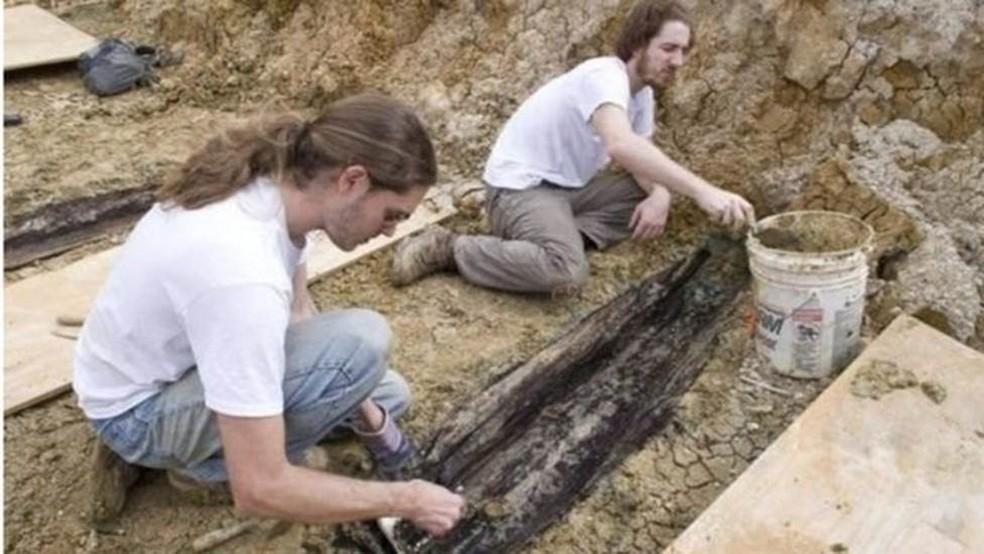 Acadêmicos querem estudar os restos mortais e criar memorial na universidade  (Foto: UNIVERSIDADE DO MISSISSIPPI)