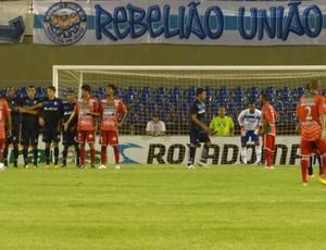 Nen marcou o gol da virada para o CEO (Foto: Caio Lorena / Globoesporte.com)