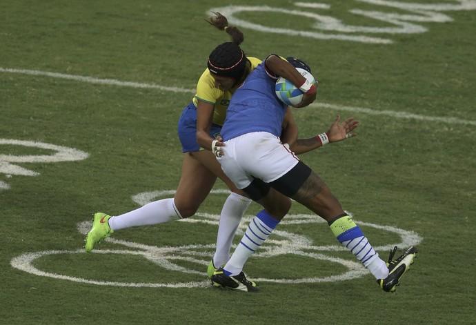 rugby Brasil x Colômbia (Foto: REUTERS/Phil Noble)