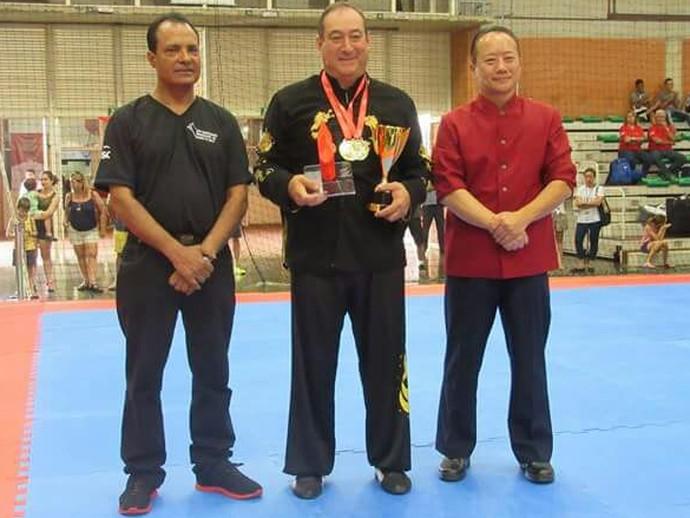 João Valdivino é destaque no brasileiro de kung fu tradicional, em SP (Foto: Divulgação)