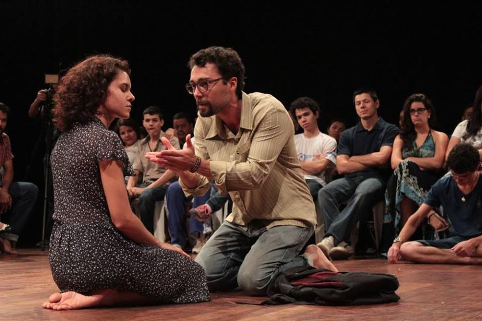 Companhia Beradeira de Teatro apresenta o espetáculo Lete, se apresenta em Vilhena e Presidente Médici  (Foto: Divulgação/Companhia Beradeira de Teatro)