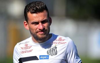 Lucas Lima não treina de novo, mas Santos conta com ele contra Cruzeiro
