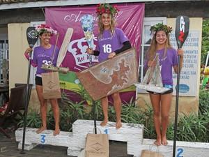 Vencedora categoria feminina (Foto: Divulgação/Prefeitura de Búzios)