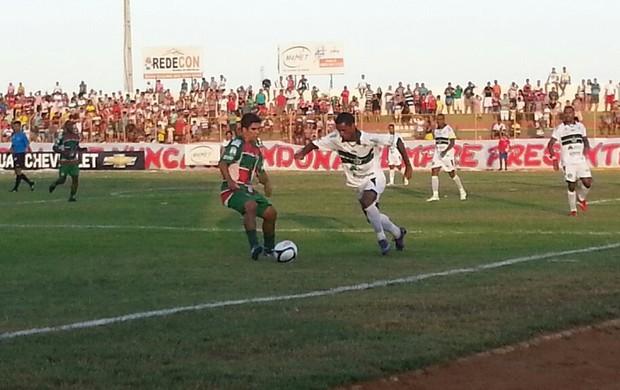 Santa Cruz-RN recebeu o Assu no Estádio Iberezão (Foto: Divulgação/Santa Cruz-RN)