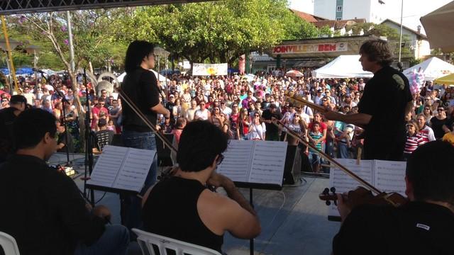 Evento ocorreu no sábado em Joinville (Foto: JA Joinville/Divulgação)
