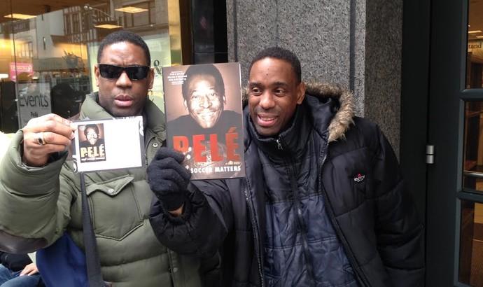 Pelé, lançamento livro nos EUA (Foto: Thiago Lavinas)