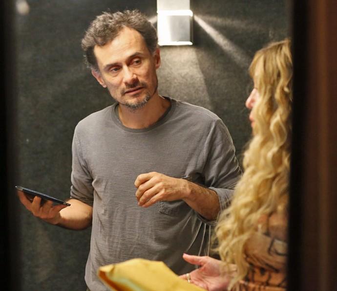 Enrique Diaz dirige Susana Vieira (Foto: Isabella Pinheiro/Gshow)