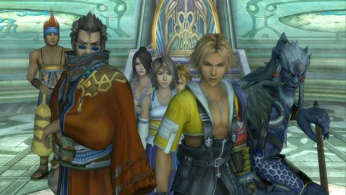 Final Fantasy X e X-2 (Foto: Divulgação)