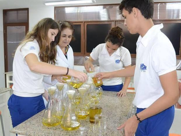 Estudantes produzem repelente natural Natal (Foto: Divulgação)