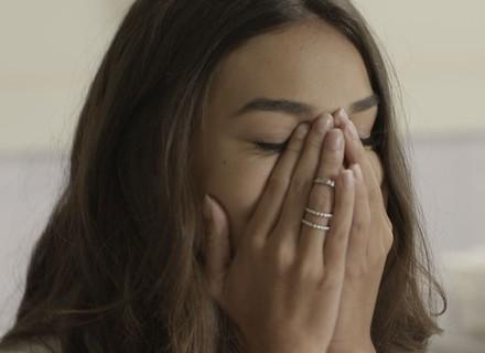 Luciana fica aliviada ao descobrir que não contraiu HIV
