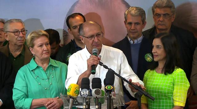 Geraldo Alckmin fala sobre possível posição do PSDB no segundo turno