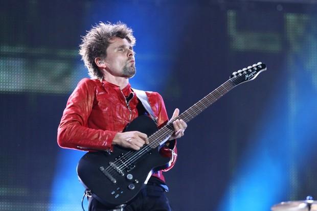Muse se apresenta no palco Mundo (Foto: Raphael Mesquita / Foto Rio News)