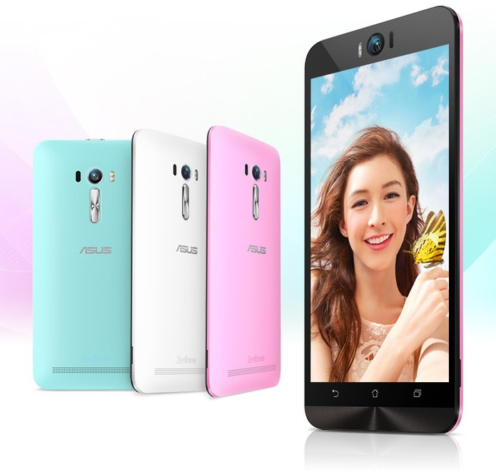 Zenfone Selfie tem câmera frontal de 13 megapixels com flash LED duplo (Foto: Divulgação/Asus)