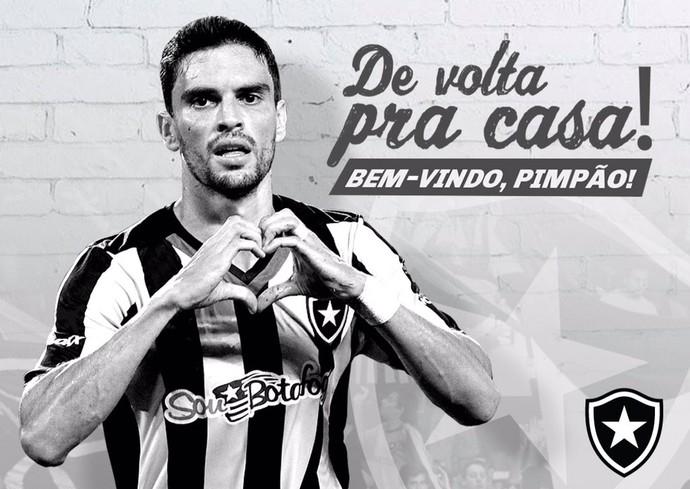 Pimpão Botafogo (Foto: Reprodução: Twitter)