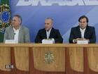 Temer, Maia e Calheiros anunciam que não patrocinarão anistia ao caixa 2