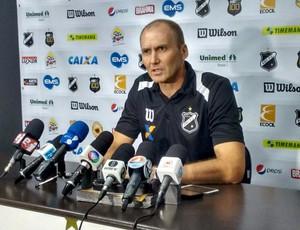Gilmar Dal Pozzo, técnico do ABC - coletiva (Foto: Divulgação/ABC)