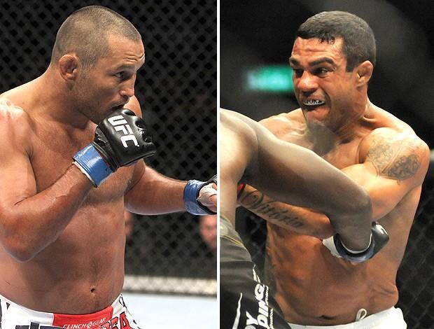 montagem UFC Vitor Belfort x Dan Henderson. (Foto: Editoria de Arte / GLOBOESPORTE.COM)