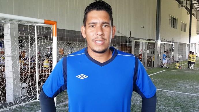 Jhonnatas Matos, goleiro do Galo da BR (Foto: Marco Bernardi)