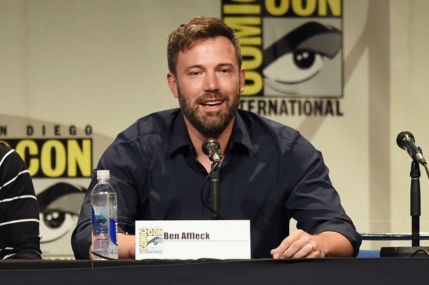 Ben Affleck na Comic Con (Foto: KEVIN WINTER / GETTY IMAGES NORTH AMERICA / AFP)