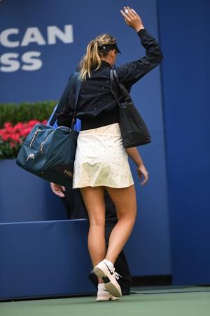 Maria Sharapova é eliminada do US Open (Foto: Eduardo Munoz Alvarez / AFP)