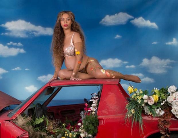 Beyoncé grávida (Foto: Reprodução/beyonce.com)
