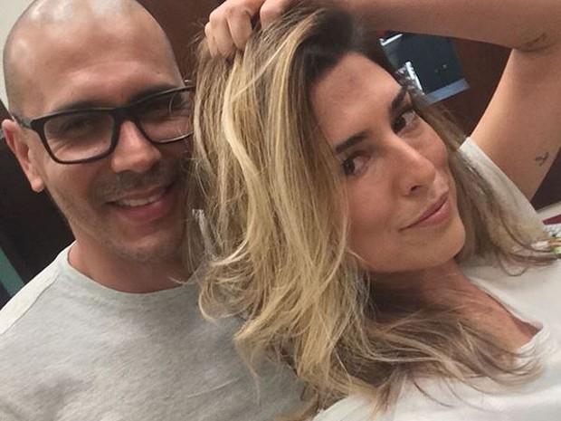 Fernanda Paes Leme em Odeio Segundas e Anderson Couto (Foto: Reproduo/Instagram)