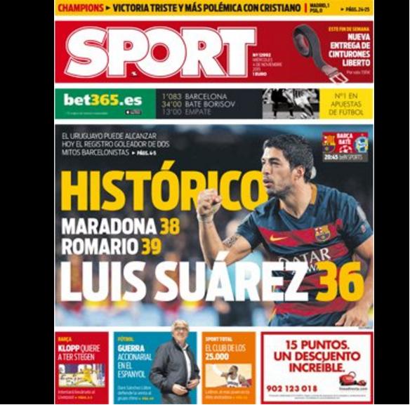 BLOG: Jornal destaca possibilidade de Suárez alcançar Romário e Maradona pelo Barça