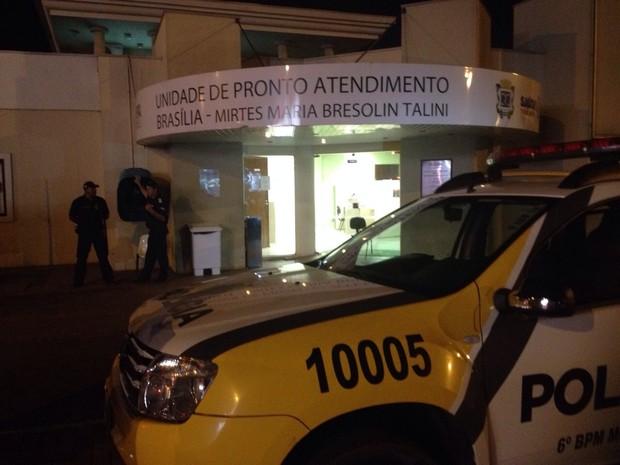 Pacientes foram transferidos para outras unidades (Foto: Priscila Luparelli/RPC TV)