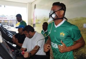 Elenco do Cuiabá passa por exames (Foto: Assessoria/Cuiabá Esporte Clube)