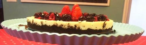 Cheesecake da Clarinha