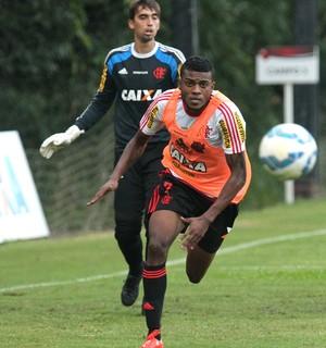 Marcelo Cirino, Cesar, Flamengo (Foto: Gilvan de Souza / Flamengo)