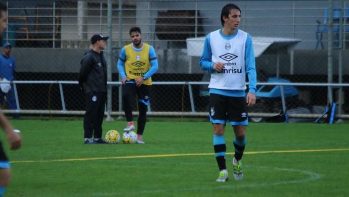 Pedro Geromel Grêmio (Foto: Eduardo Moura/GloboEsporte.com)