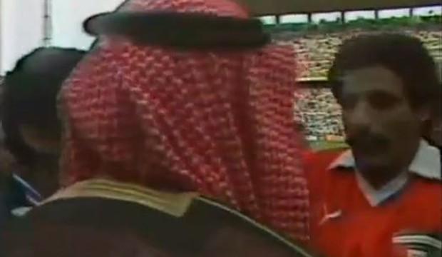 Sheik em campo (Foto: reprodução)
