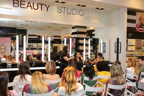 Workshop na loja Sephora