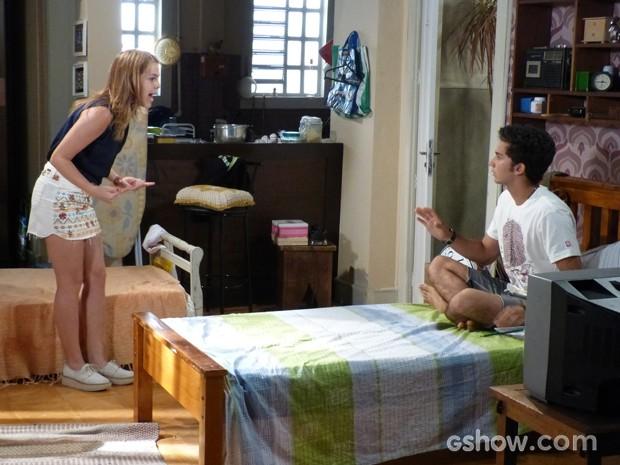 Anita explode e diz que Ben é culpado por todos os problemas de sua vida  (Foto: Malhação / TV Globo)