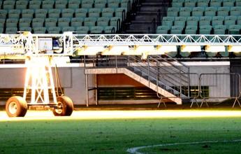 Cancelamento de show na arena é comemorado no Palmeiras