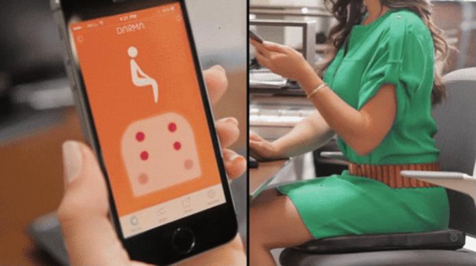 Dispositivo mede nível de estresse e avisa dados completos do usuário (Foto: Divulgação/Darma)