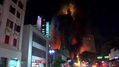 incêndio profissão repórter (Foto: TV Globo)