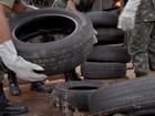 Exército recolhe 60 t de pneus durante força-tarefa na capital de MS