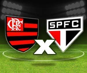 Flamengo x São Paulo (Foto: Arte TV Liberal)