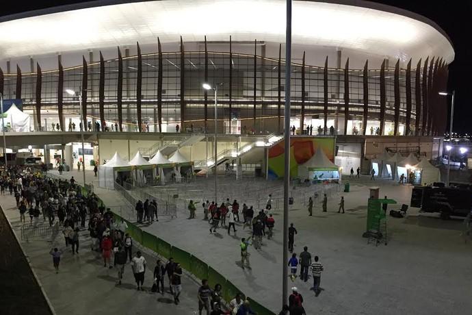 Arena Carioca 1; basquete; olimpíada 2016 (Foto: Gustavo Rotstein)