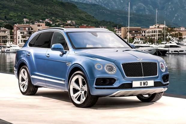 Bentley Bentayga ganha motor turbodiesel (Foto: Divulgação)