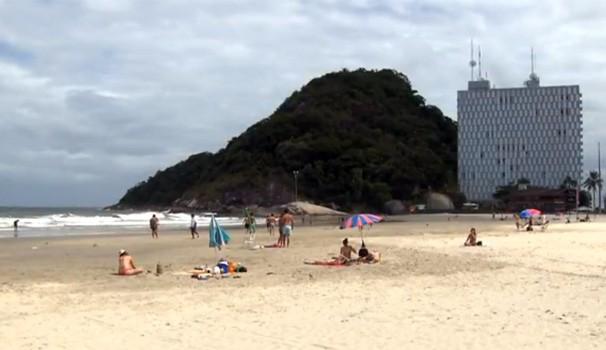 Painel litoral (Foto: Reprodução/ RPC)