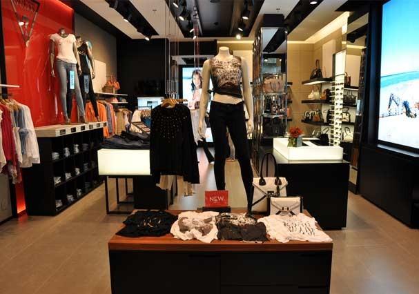Noca cencept store da Guess no Shopping Cidade Jardim (Foto: Divulgação)