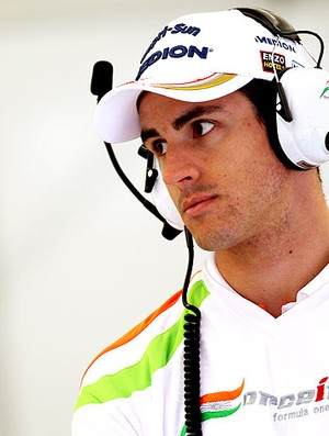 Adrian Sutil na Force India (Foto: Getty Images)