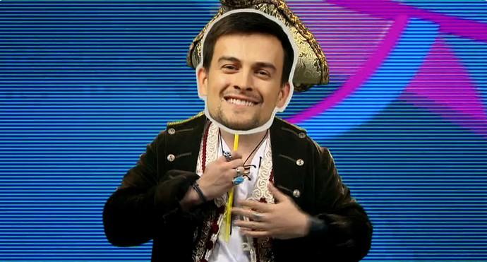 E esse chapéu aí escondido?! (Foto: TV Globo)