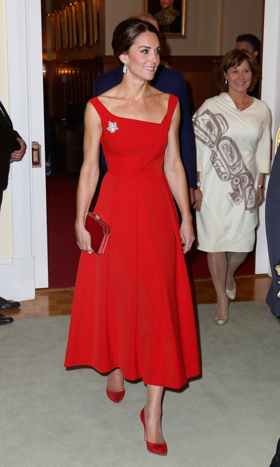 katemiddletonvermelhocanada (Foto: Getty)