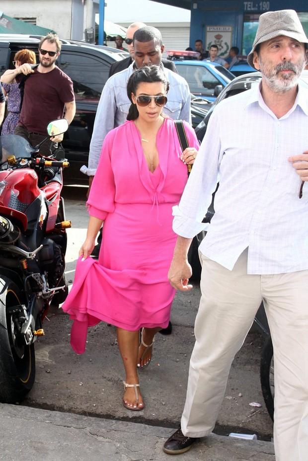 Kim Kardashian (Foto: Marcellos Sá Barreto/ Ag.News)